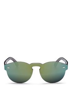 SUPER'Tuttolente Paloma' rimless all lens mirror sunglasses