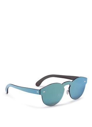 Figure View - Click To Enlarge - SUPER - 'Tuttolente Paloma' rimless all lens mirror sunglasses