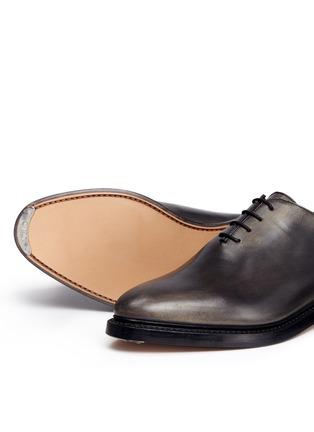 Thom Browne - 'Phase 2' burnished wholecut leather Oxfords