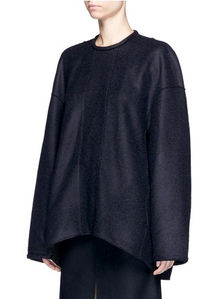 Front View - Click To Enlarge - Ellery - 'Emcee' reversible felt top