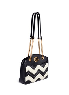Gucci 'GG Marmont' medium matelassé chevron leather shoulder bag