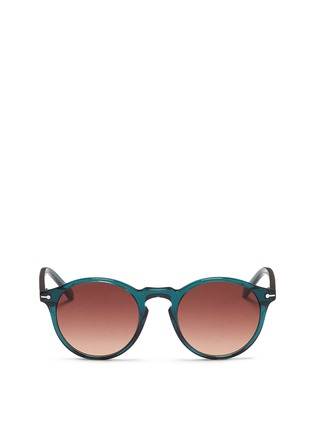 Main View - Click To Enlarge - Sons+Daughters Eyewear - 'Clark' kids keyhole bridge acetate round sunglasses