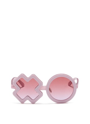 Main View - Click To Enlarge - Sons+Daughters Eyewear - 'XO' kids acetate sunglasses