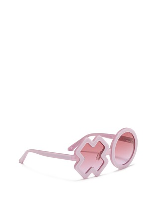 Figure View - Click To Enlarge - Sons+Daughters Eyewear - 'XO' kids acetate sunglasses