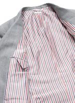 Wool-Mohair blend blazer