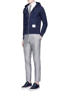 Thom BrowneWool-mohair skinny pants