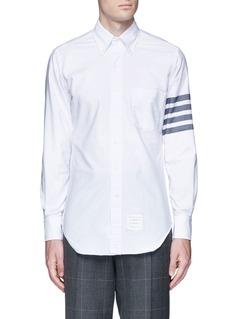Thom BrowneStripe cotton Oxford shirt
