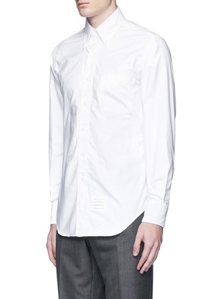 Front View - Click To Enlarge - Thom Browne - Button down cotton Oxford shirt