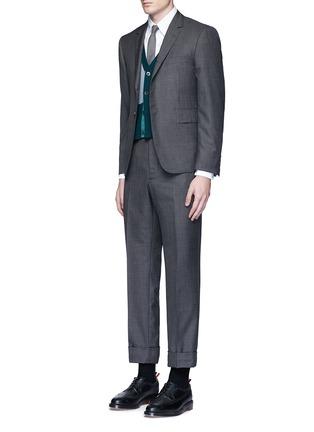 Thom Browne-Button down cotton Oxford shirt