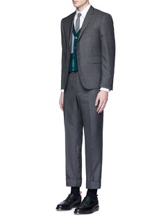 Thom Browne Button down cotton Oxford shirt