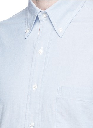 Detail View - Click To Enlarge - Thom Browne - Button down cotton Oxford shirt