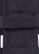 Wool fresco tie