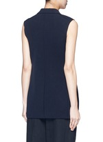 Technical stretch suiting vest