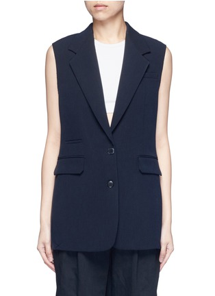 Main View - Click To Enlarge - Helmut Lang - Technical stretch suiting vest