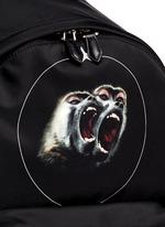 'Monkey Brothers' nylon backpack