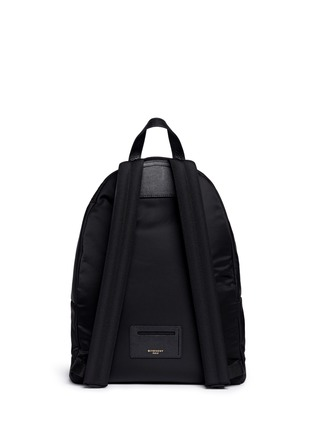 Back View - Click To Enlarge - Givenchy - 'Monkey Brothers' nylon backpack