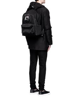 Givenchy'Monkey Brothers' nylon backpack