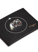 'Monkey Brothers' faux leather cardholder
