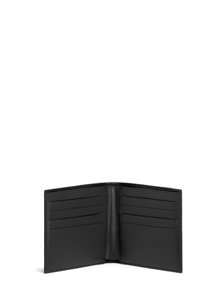 Figure View - Click To Enlarge - Givenchy - 'Monkey Brothers' faux leather bifold wallet