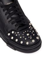 'Tyson' stud leather sneakers