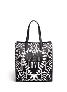 Givenchy 'Power of Love' medium slogan print tote