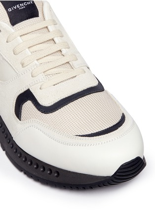 Givenchy-'Runner Active' mixed media sneakers
