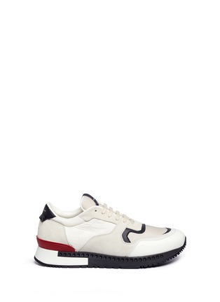 Main View - Click To Enlarge - Givenchy - 'Runner Active' mixed media sneakers