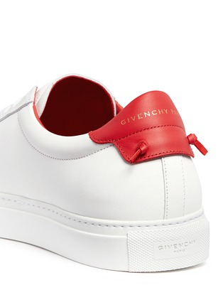 Givenchy - 'Urban Street' knot collar leather sneakers