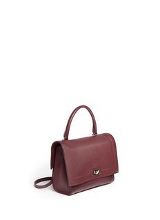 Givenchy'Shark' small leather shoulder bag