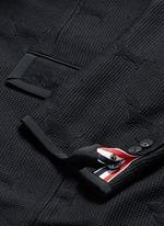'Hector' wool stamp jacquard blazer