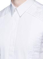 Multi bib tuxedo shirt