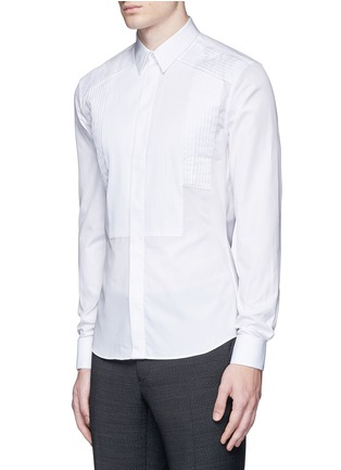 Front View - Click To Enlarge - Givenchy - Multi bib tuxedo shirt