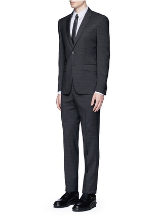 Figure View - Click To Enlarge - Givenchy - Multi bib tuxedo shirt