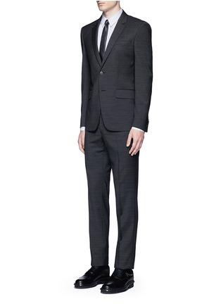 Givenchy-Multi bib tuxedo shirt