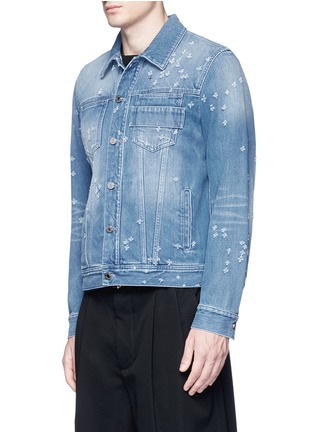 Givenchy - Distressed denim jacket