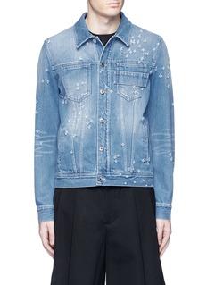 GivenchyDistressed denim jacket