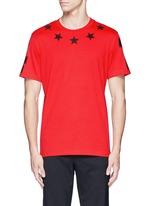 '74' print star patch T-shirt