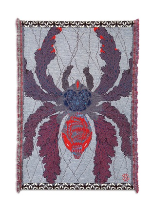 Main View - Click To Enlarge - Kustaa Saksi - Arachne's Web limited edition tapestry