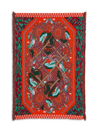Main View - Click To Enlarge - Kustaa Saksi - In The Fish Trap limited edition tapestry