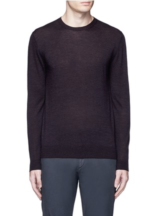 Main View - Click To Enlarge - Altea - Stripe virgin wool sweater