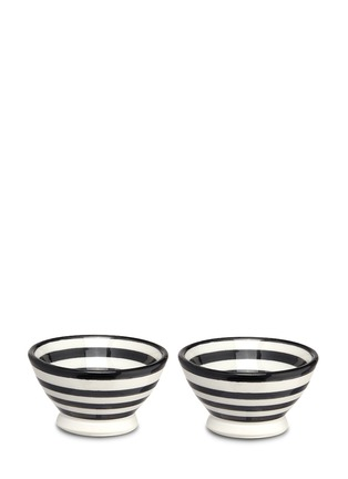 Main View - Click To Enlarge - CHABI CHIC - Stripe mini bowl set