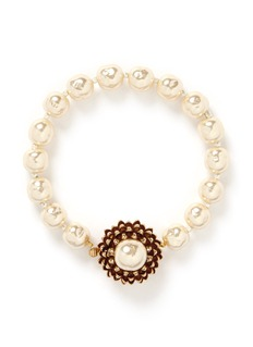 MIRIAM HASKELL Acorn Baroque glass pearl bracelet