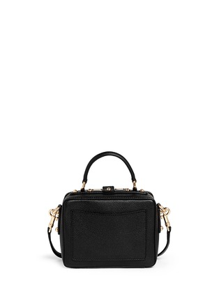 Back View - Click To Enlarge - Dolce & Gabbana - 'Dolce Soft' drummed calfskin leather bag