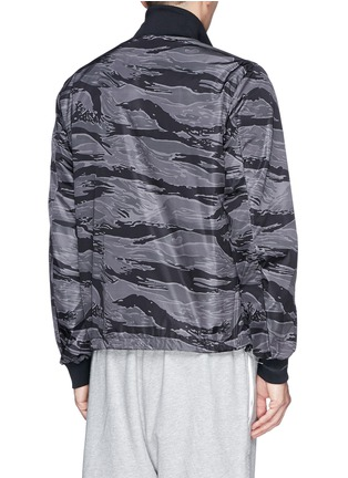 Back View - Click To Enlarge - Moncler - 'Gauguin' camouflage reversible jacket