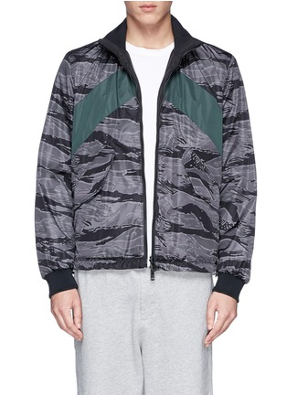 Main View - Click To Enlarge - Moncler - 'Gauguin' camouflage reversible jacket