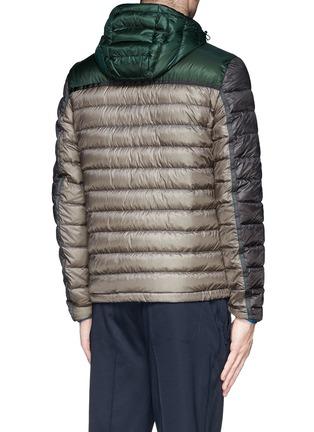 背面 - 点击放大 - MONCLER - ARSENAL拼色羽绒夹克