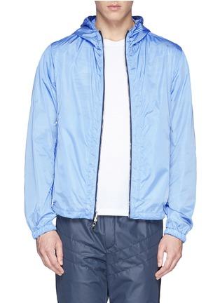 - Moncler - 'Gobert' camouflage mesh reversible jacket