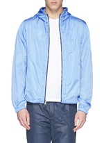 'Gobert' camouflage mesh reversible jacket