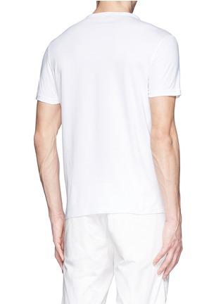 Moncler-'Maglia' paint splatter cotton T-shirt