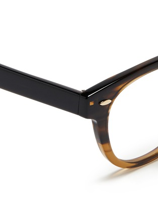 Detail View - Click To Enlarge - Oliver Peoples - 'Sheldrake RX' ombré acetate optical glasses